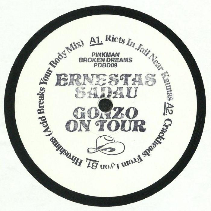 SADAU, Ernestas - Gonzo On Tour