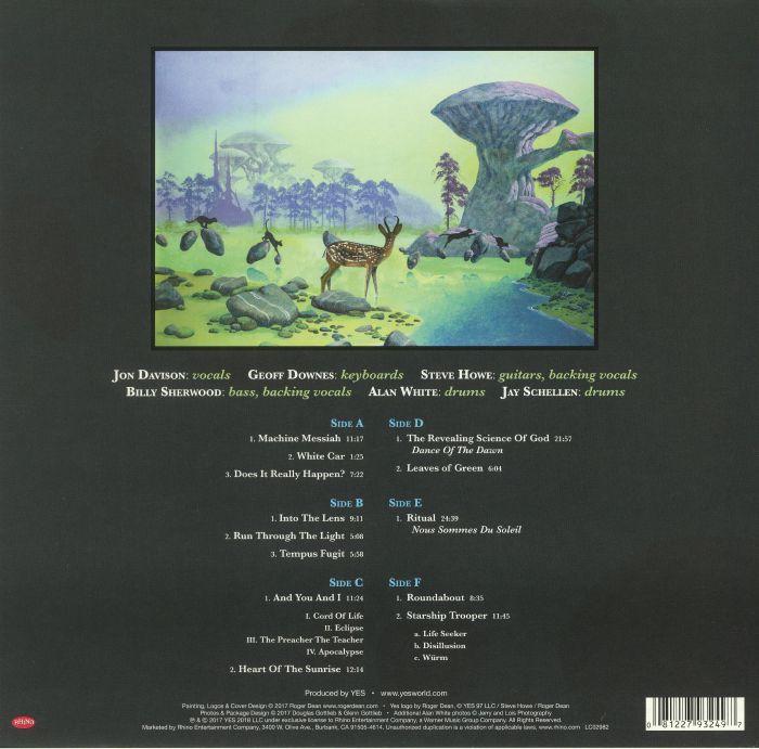Yes Topographic Drama Live Across America Vinyl At Juno