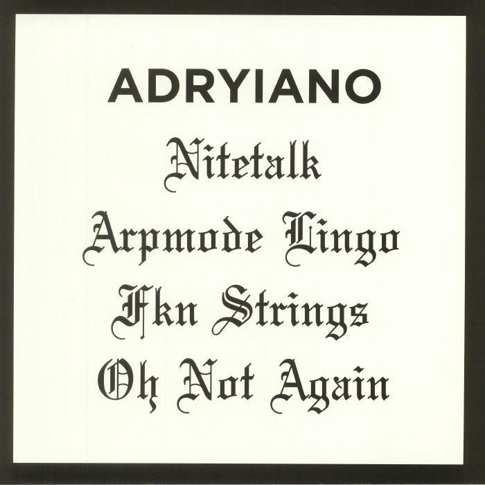 ADRYIANO - Nitetalk