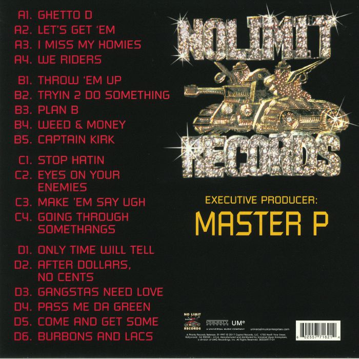 MASTER P - Ghetto D (reissue)