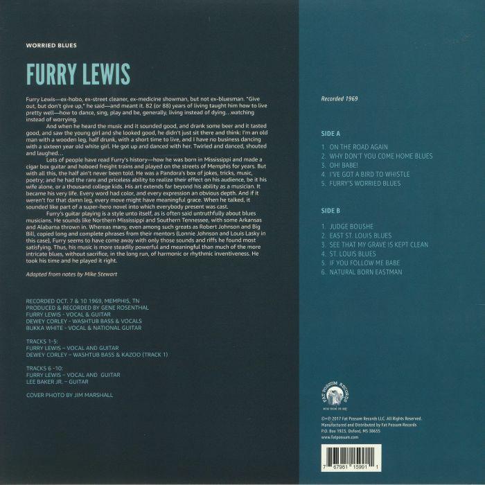 FURRY LEWIS - Worried Blues
