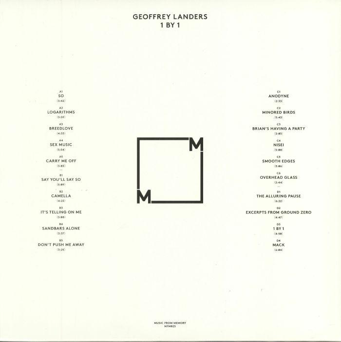 LANDERS, Geoffrey - 1 By 1