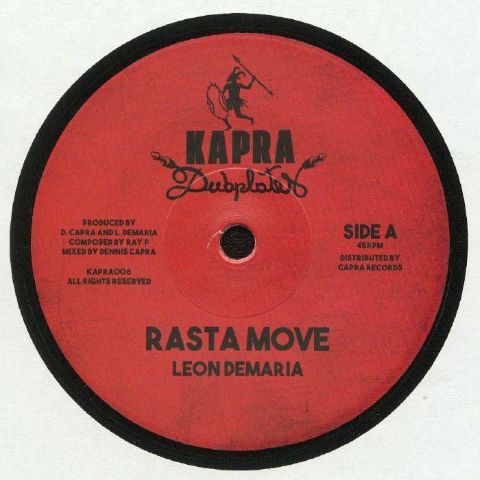 DEMARIA, Leon/DENNIS CAPRA - Rasta Move