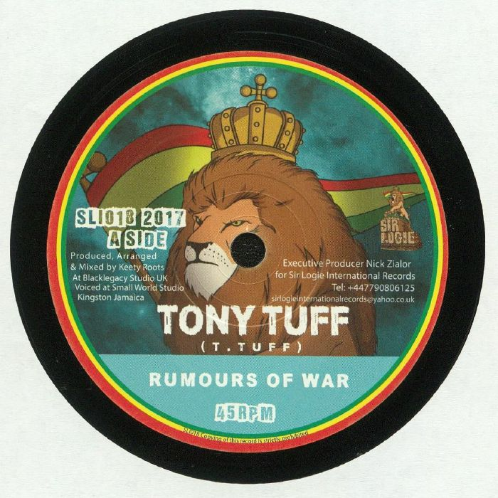 TONY TUFF/KEETY ROOTS - Rumours Of War