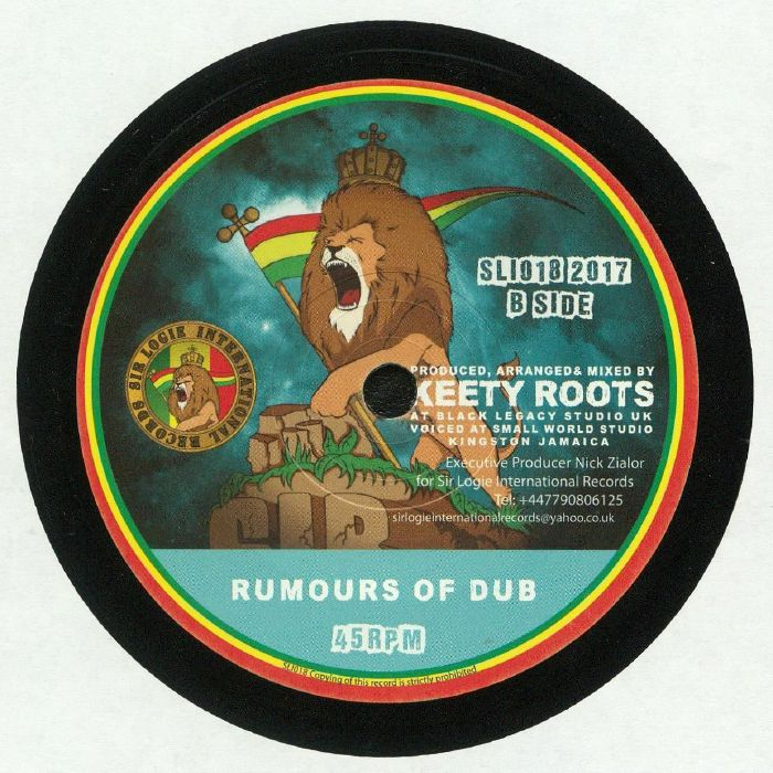 TONY TUFF/KEETY ROOTS - Rumours Of War