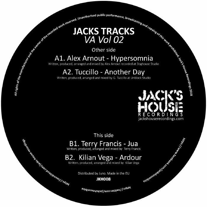 ARNOUT, Alex/TUCCILLO/TERRY FRANCIS/KILIAN VEGA - Jacks Tracks VA Vol 02