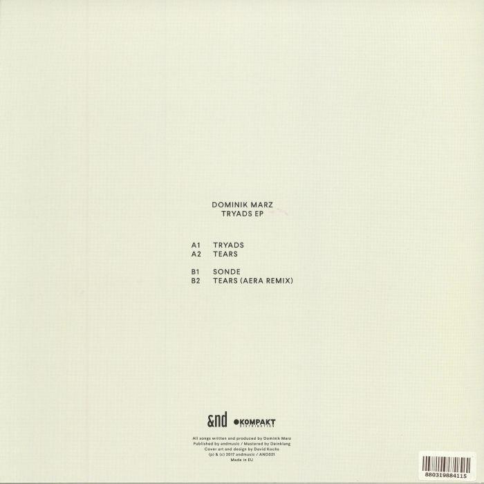 MARZ, Dominik - Tryads EP
