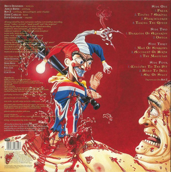 DICKINSON, Bruce - Accident Of Birth (reissue)