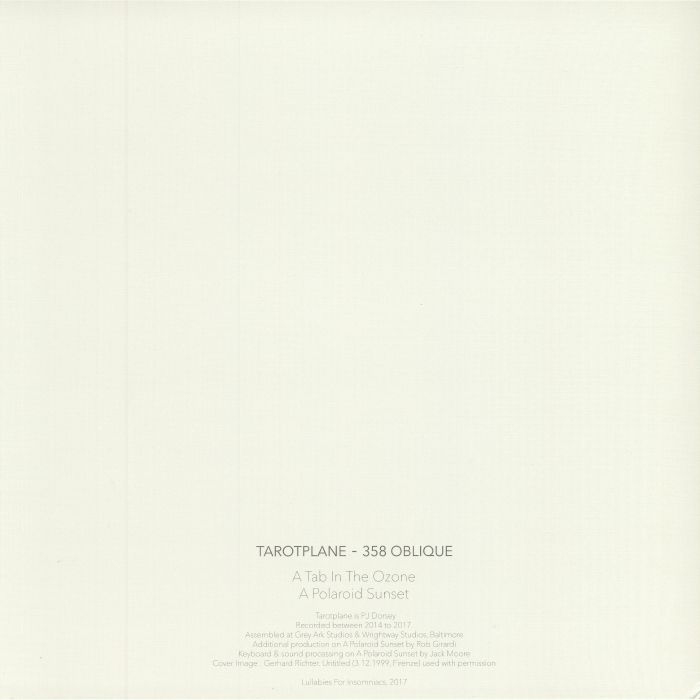 TAROTPLANE - 358 Oblique