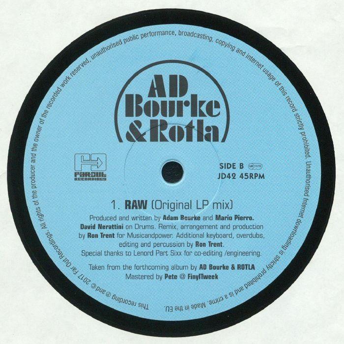 AD BOURKE/ROTLA - Raw (Ron Trent Remix)