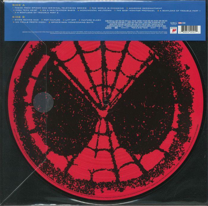 Michael Giacchino Spiderman Homecoming Soundtrack Vinyl
