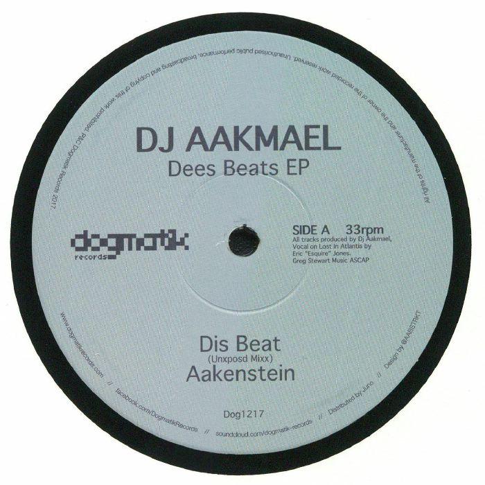 DJ AAKMAEL - Dees Beats EP