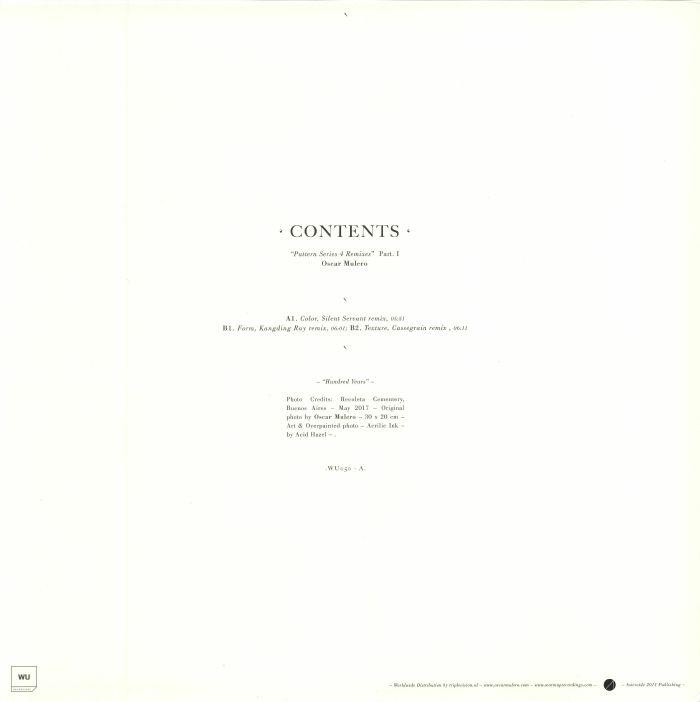 MULERO, Oscar - Contents: Pattern Series 4 Remixes Part 1
