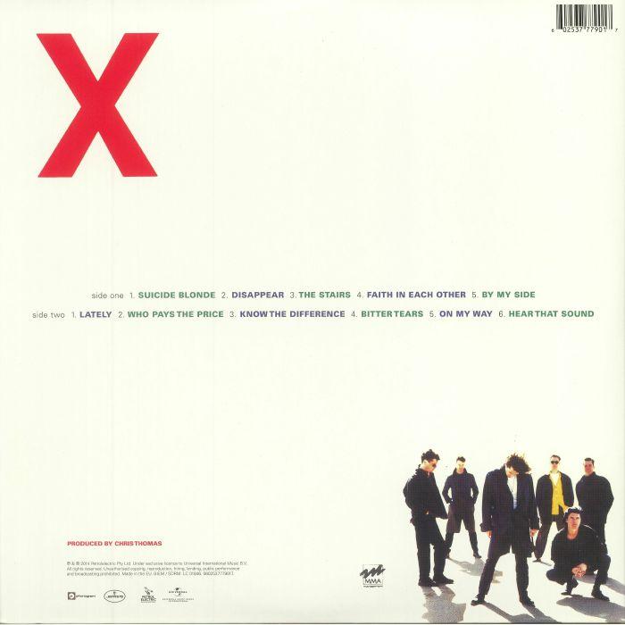 INXS - X (reissue)