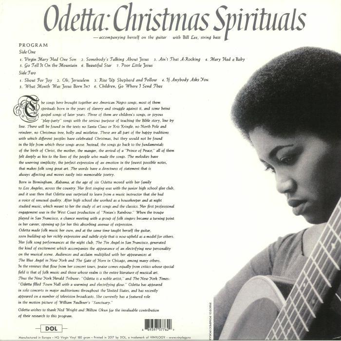 ODETTA - Christmas Spirituals