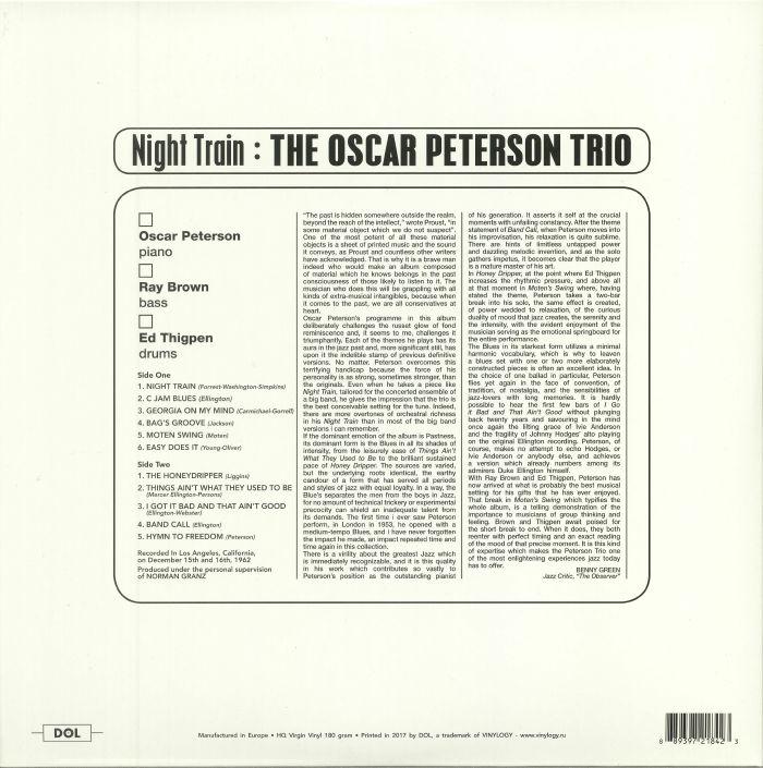 OSCAR PETERSON TRIO, The - Night Train (reissue)