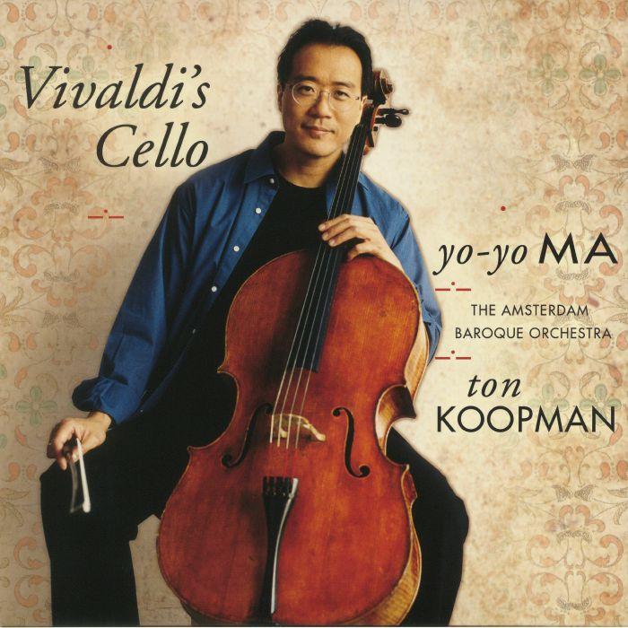 YO YO MA/THE AMSTERDAM BAROQUE ORCHESTRA/TON KOOPMAN - Vivaldi's Cello