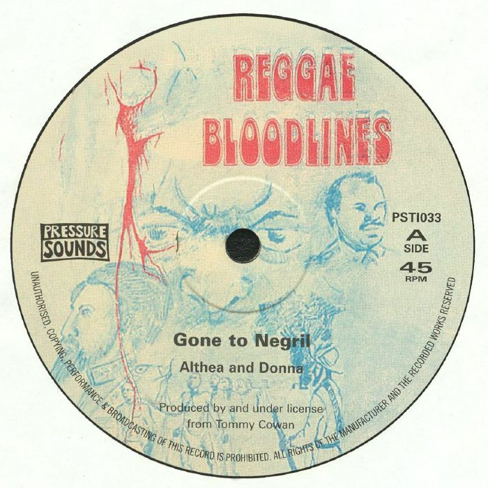 ALTHEA & DONNA/TALENT CREW - Gone To Negril