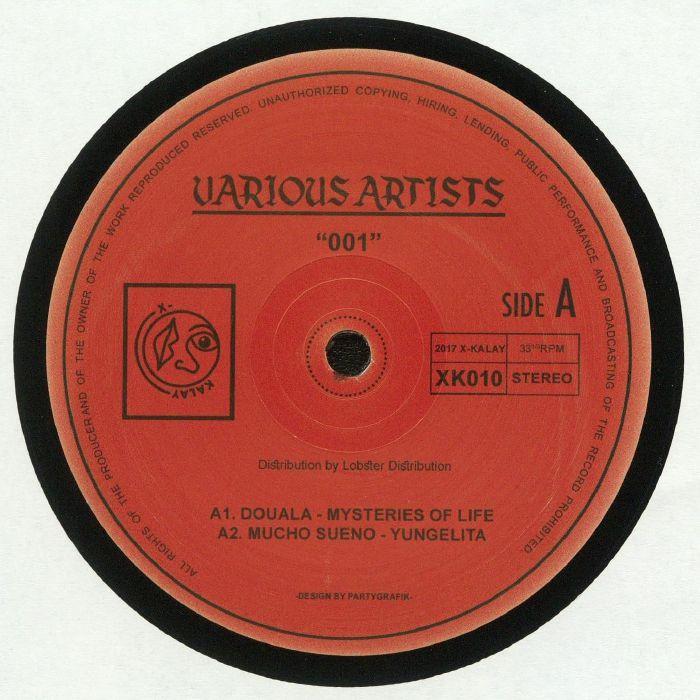 DOUALA/MUCHO SUENO/E DAVD/ESCAPE ARTIST - Various Artists 001