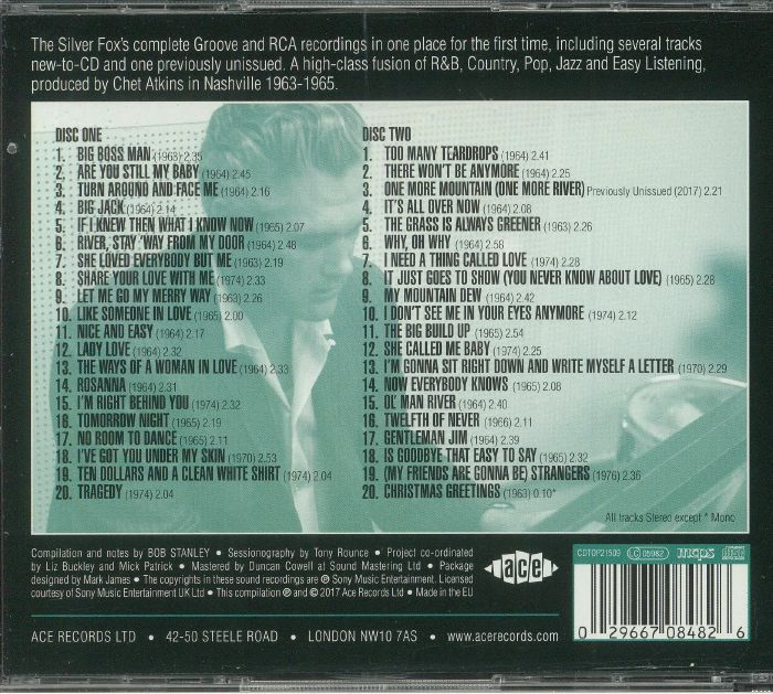 RICH, Charlie - Too Many Teardrops: The Complete Groove & RCA Recordings