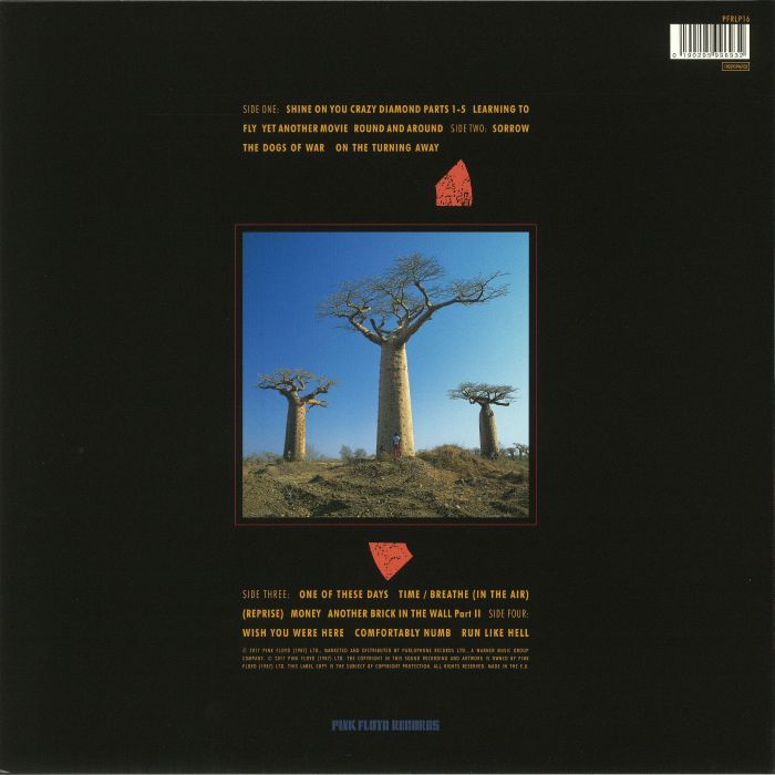 PINK FLOYD - Delicate Sound Of Thunder (remastered) (reissue)