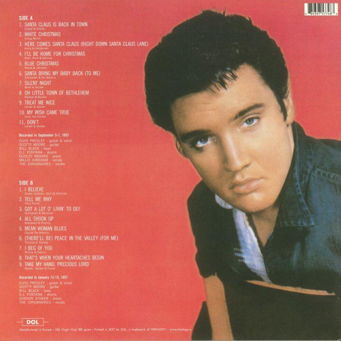 PRESLEY, Elvis - Elvis' Christmas Album