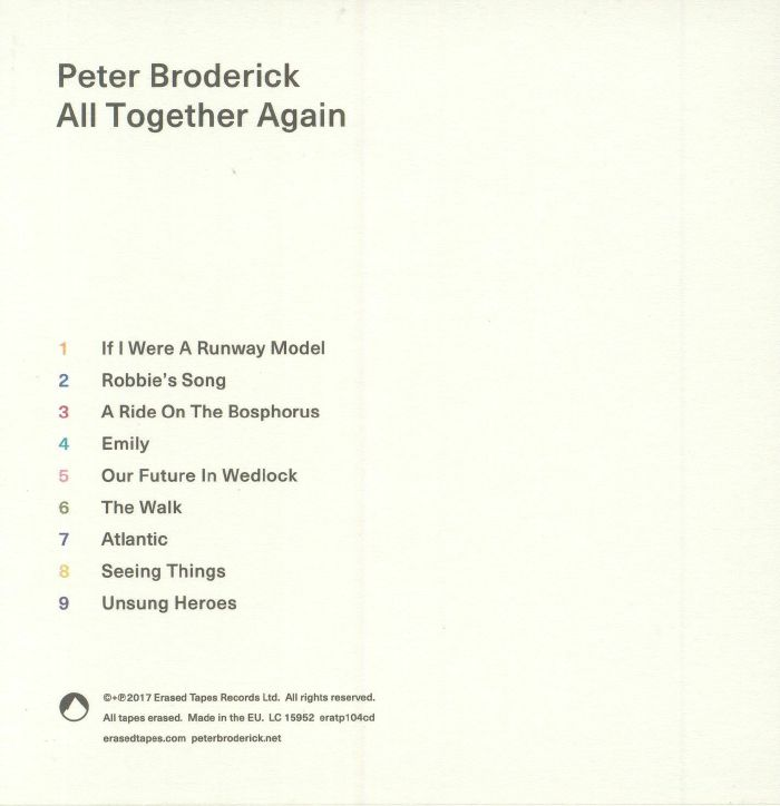 BRODERICK, Peter - All Together Again