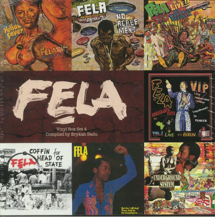 KUTI, Fela - Vinyl Box Set 4: Compiled By Erykah Badu