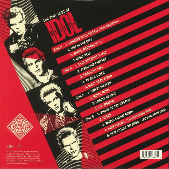 BILLY IDOL - Idolize Yourself: The Very Best Of Billy Idol (reissue)