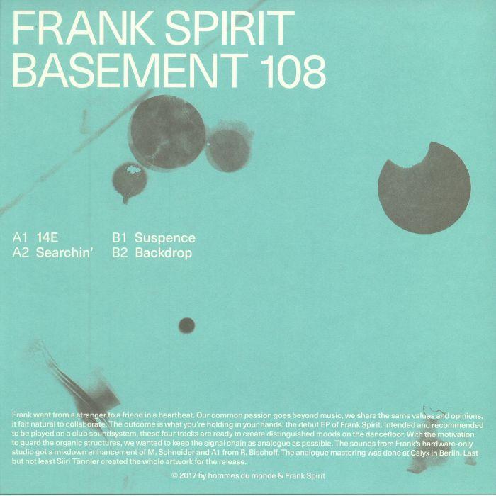 FRANK SPIRIT - Basement 108