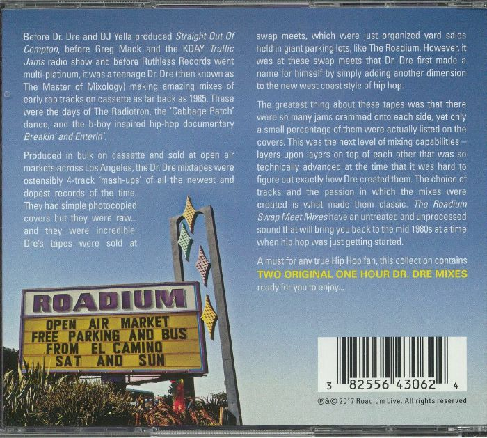 DR DRE/VARIOUS - The Roadium Swap Meet Mixes: 85 To 88 Part 2