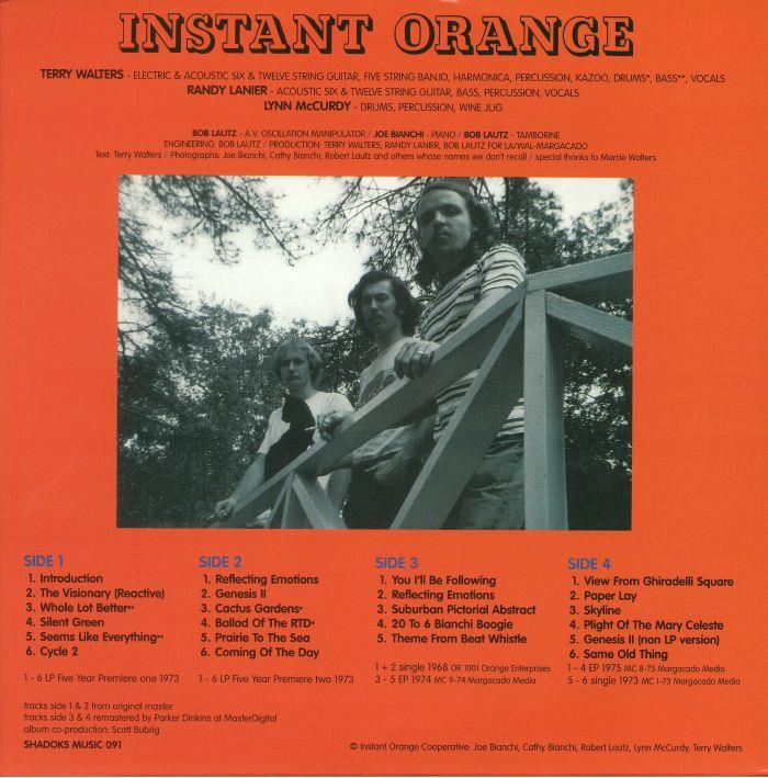 INSTANT ORANGE Instant Orange vinyl at Juno Records