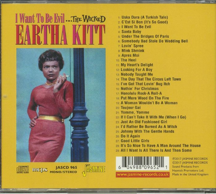 KITT, Eartha - I Want To Be Evil: The Wicked Eartha Kitt