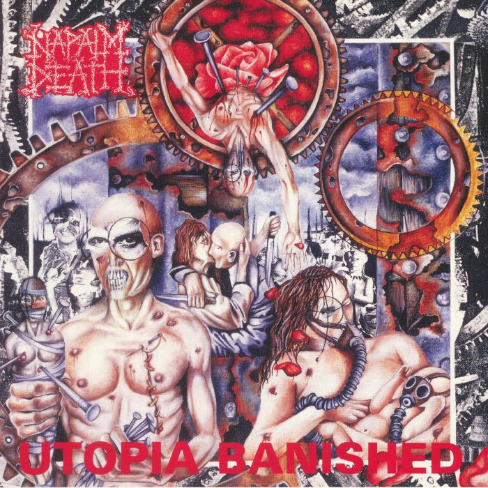 NAPALM DEATH - Utopia Banished (reissue)