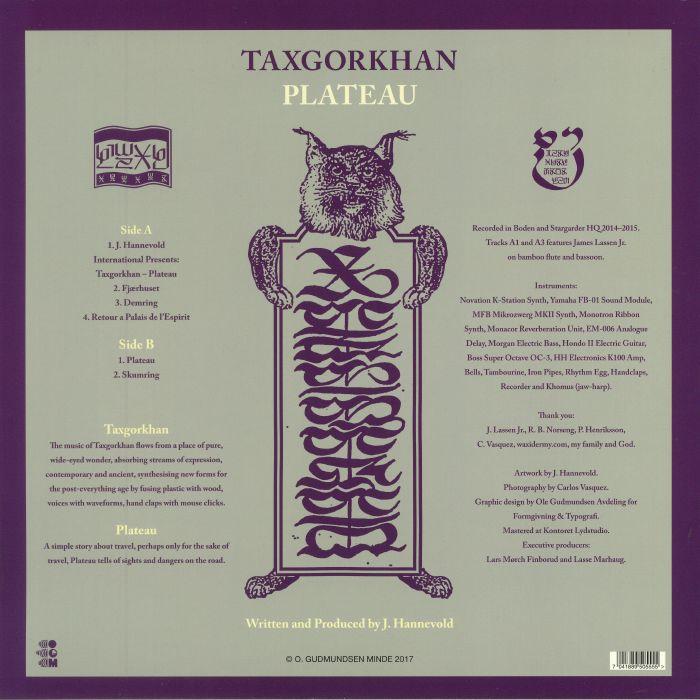 TAXGORKHAN - Plateau