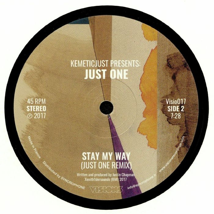 KEMETICJUST presents JUST ONE - Stay My Way