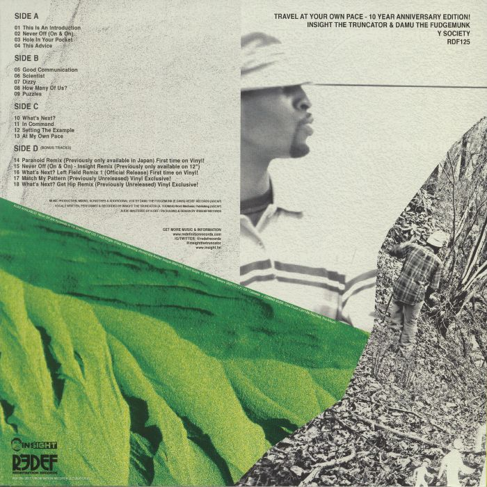 Y SOCIETY aka INSIGHT THE TRUNCATOR/DAMU THE FUDGEMUNK - Travel At Your Own Pace (remastered)