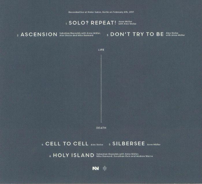MULLER, Anne/SEBASTIAN REYNOLDS/ALEX STOLZE - Solo Collective: Part One