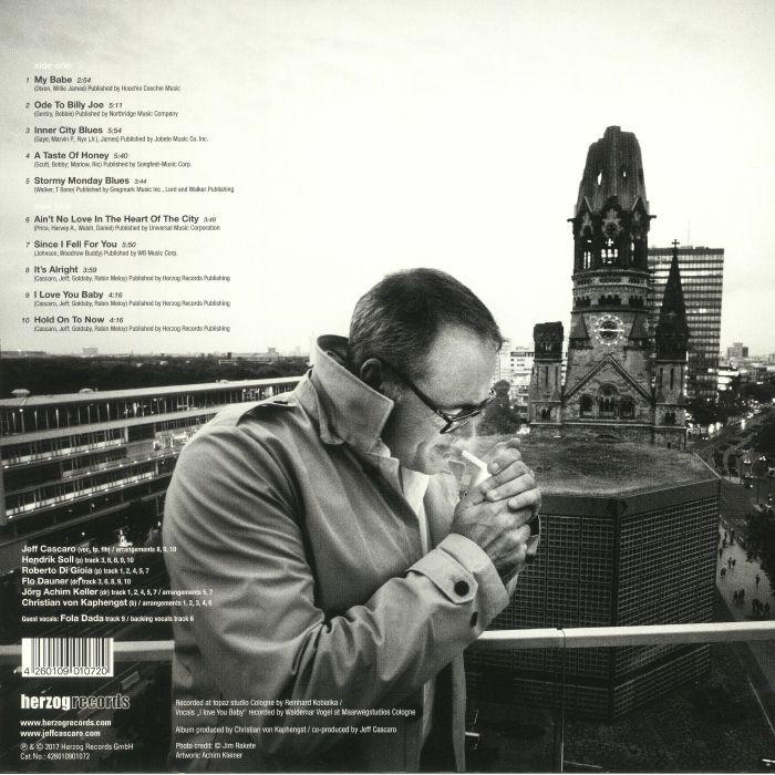 CASCARO, Jeff - Love & Blues In The City