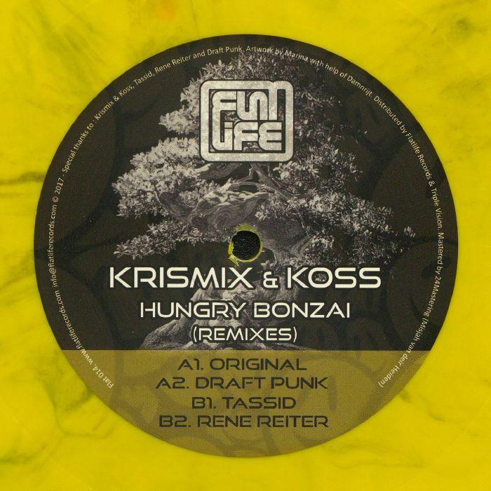 KRISMIX & KOSS - Hungry Bonzai: Remixes