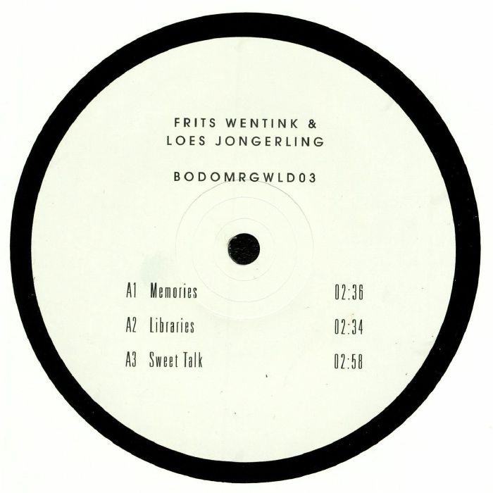 WENTINK, Frits/LOES JONGERLING - BODOMRGWLD 03