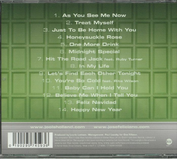 HOLLAND, Jools/JOSE FELICIANO with THE RHYTHM & BLUES ORCHESTRA - As You See Me Now