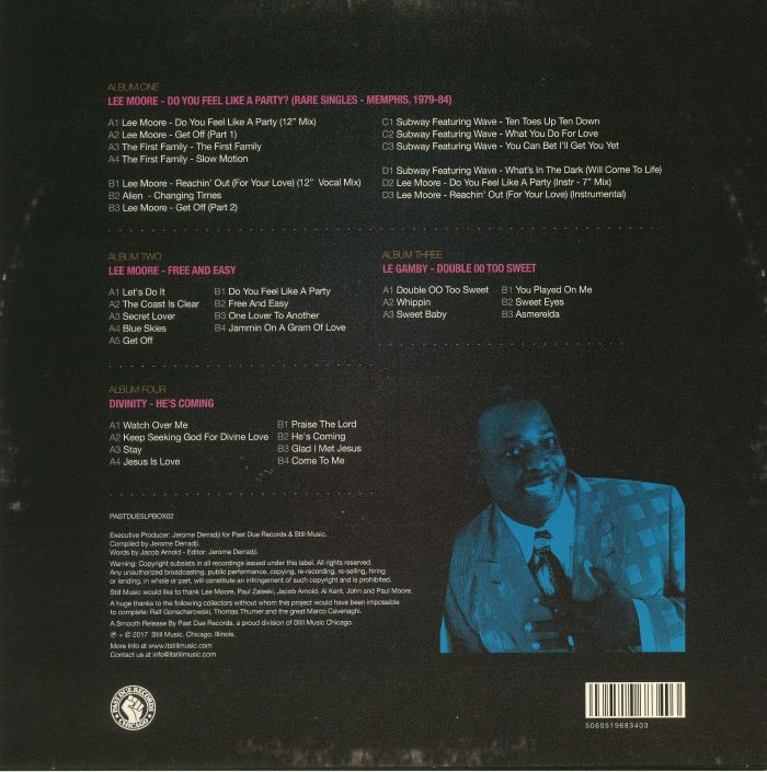 MOORE, Lee/VARIOUS - A Gram Of Boogie: The Story Of Lee Moore Score Records & LM Records Memphis 1979-89