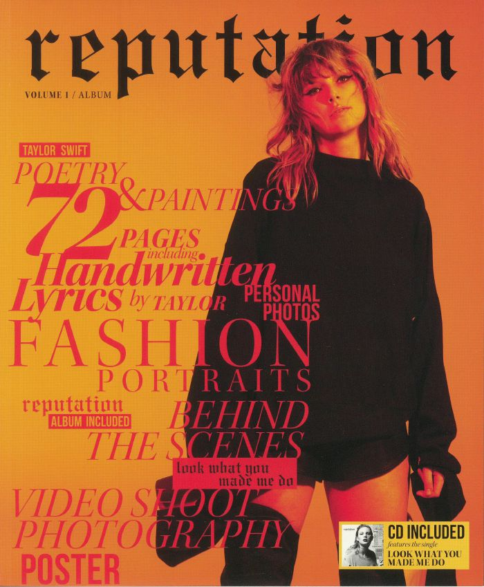 SWIFT, Taylor - Reputation: Volume 1 (Special Edition)