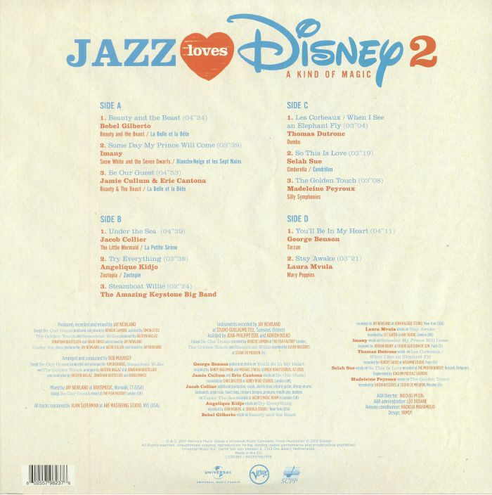 VARIOUS - Jazz Loves Disney 2: A Kind Of Magic
