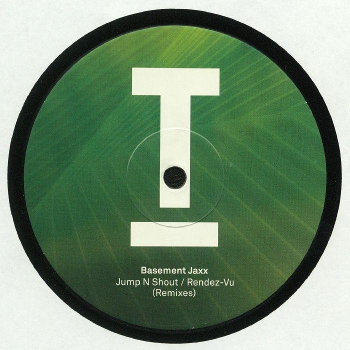 BASEMENT JAXX - Jump N Shout/Rendez Vu (remixes)