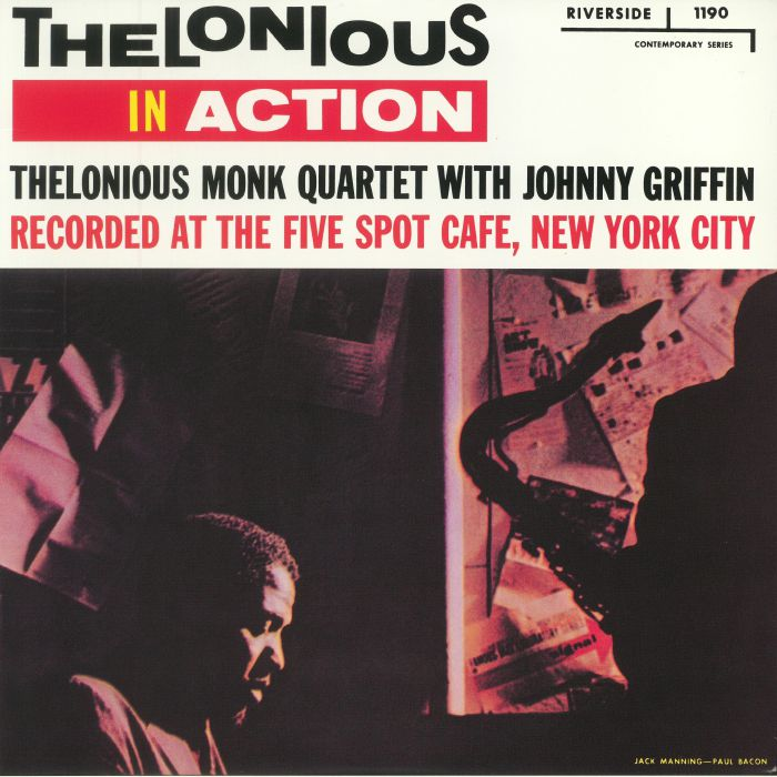 THELONIOUS MONK QUARTET with JOHNNY GRIFFIN - Thelonious In Action