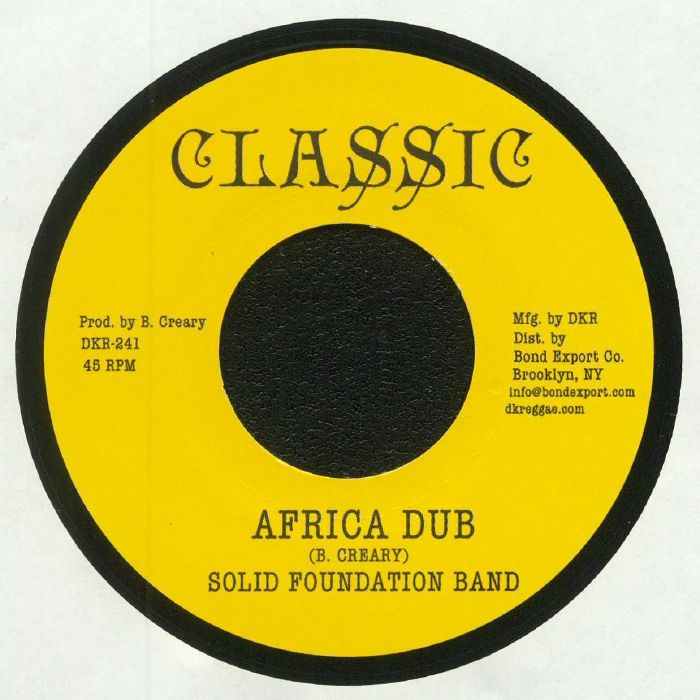 CREARY, Anthony/SOLID FOUNDATION BAND - Land Call Africa