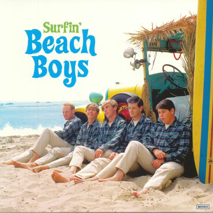 BEACH BOYS, The - Surfin' (reissue) (remastered) (mono)