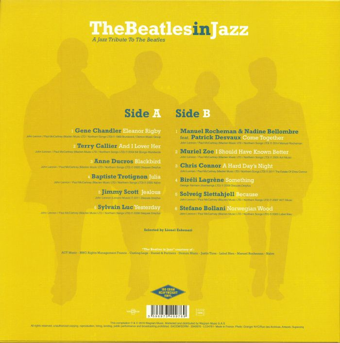 VARIOUS - The Beatles In Jazz: A Jazz Tribute To The Beatles